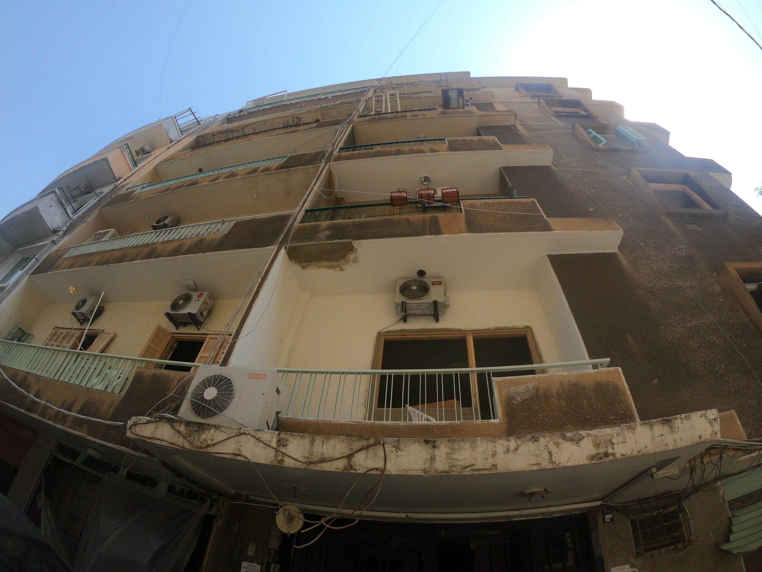 Building restoration after August 4 Beirut Port's blast